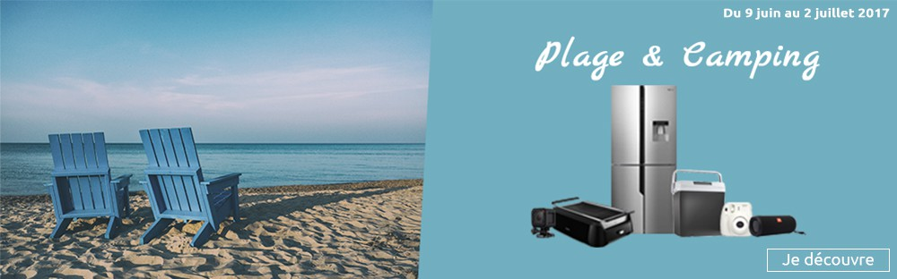 Sélection plage camping
